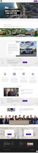 dan cooper website design screenshot